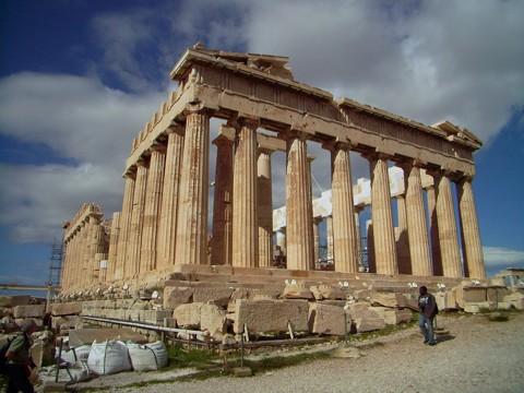 Athen Akropolis - Parthenon