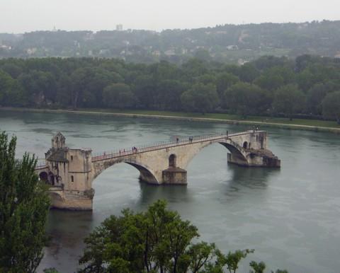 Avignon - Brücke Pont St. Bénézet