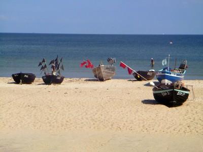 Fischerboote Baabe