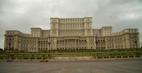 Bukarest - Parlamentspalast