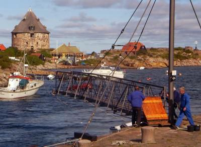 Brücke Christiansø - Frederiksø