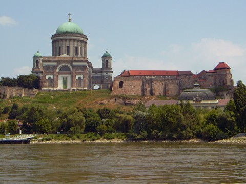 Esztergom - Basilika und Königspalast