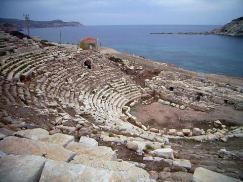 Knidos - Theater