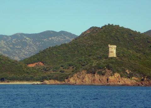 Korsika - Wachturm