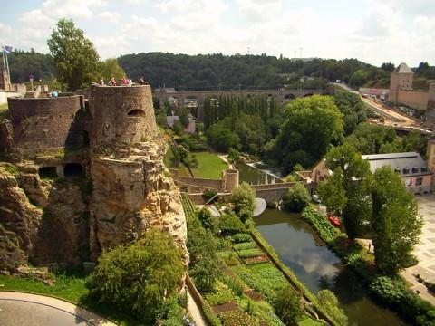 Luxemburg - Bockfelsen, Kasematten