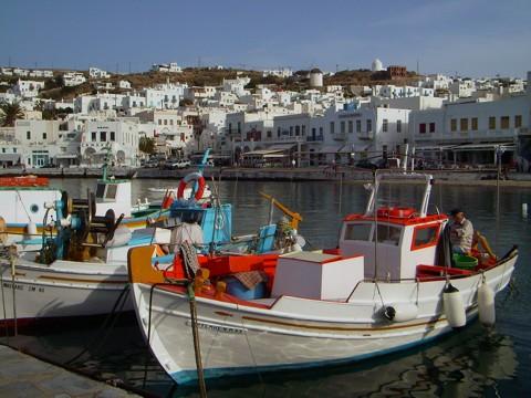 Mykonos - Hafen