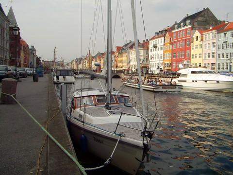 Tongji im Nyhavn in Kopenhagen