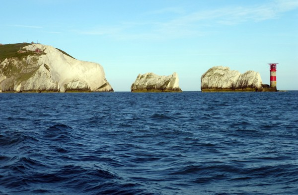 The Needles bei der Isle of Wight