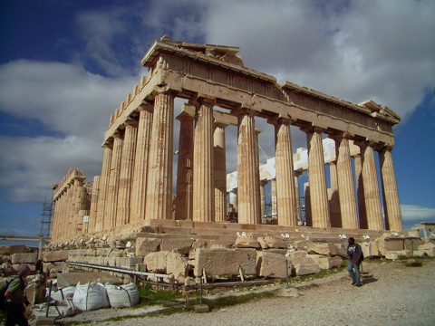 Parthenon in Athen / Akropolis