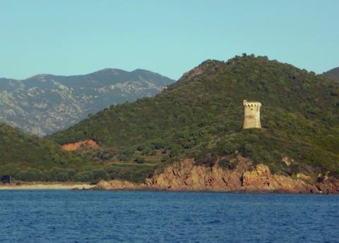 Korsika - Küste Wachtürme
