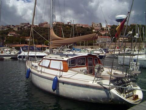 Tongji im Hafen von Porto Vecchio (Korsika)