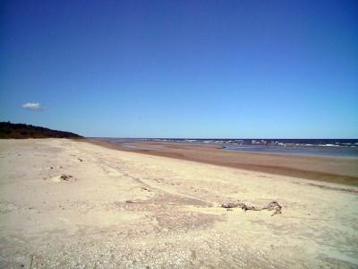Strand von Roja (Bucht von Riga / Rigaischer Meerbusen)
