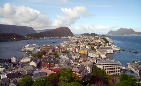 Alesund in Norwegen