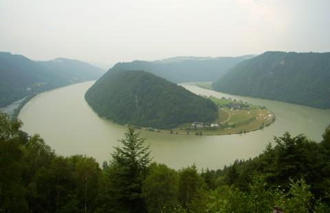 Donau - Schlögener Schlinge - Österreich