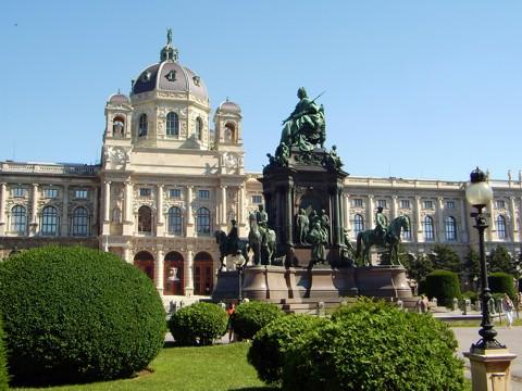 Theresienplatz in Wien