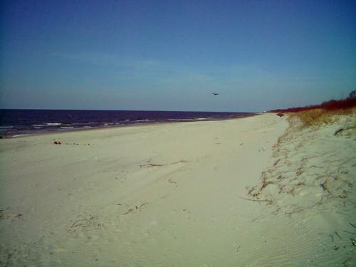 Strand Dziwnow - Ostseeküste