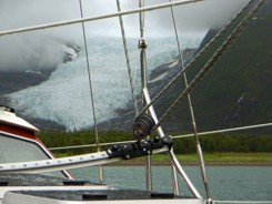 Segeln - Gletscher