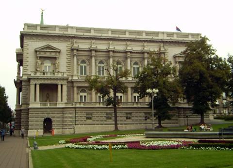 Altes Schloss in Belgrad - heute das Rathaus