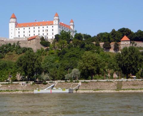 Burg Hrad an der Donau in Bratislava
