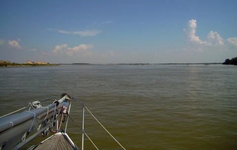 Donau in der Slowakei