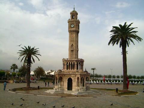 Uhr-Turm in Izmir, Türkei