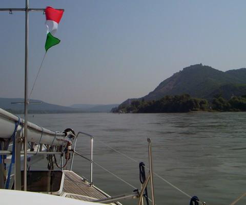 Donauknie bei Visegrad, Ungarn