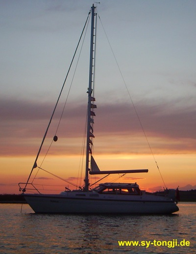 Segelyacht Tongji
