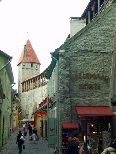 Stadtmauer und Turm